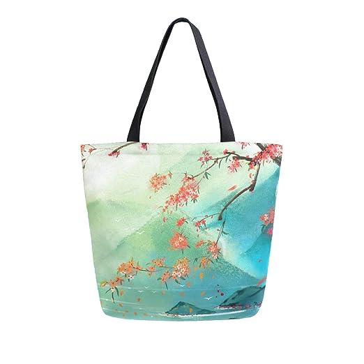 Dallonan Bolsa de lona para la compra de estilo chino ...