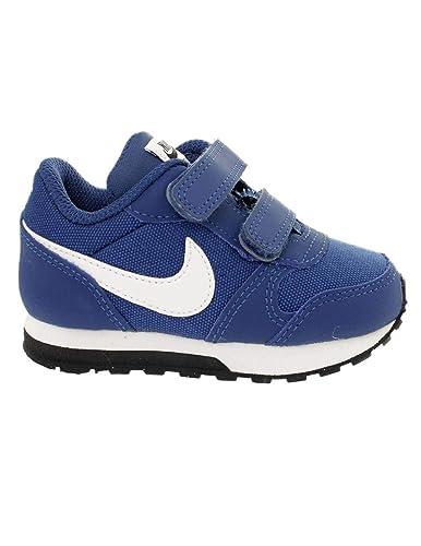 on sale 2439a c5354 Nike MD Runner 2 (TDV), Chaussures de Running Compétition Mixte Enfant, Bleu