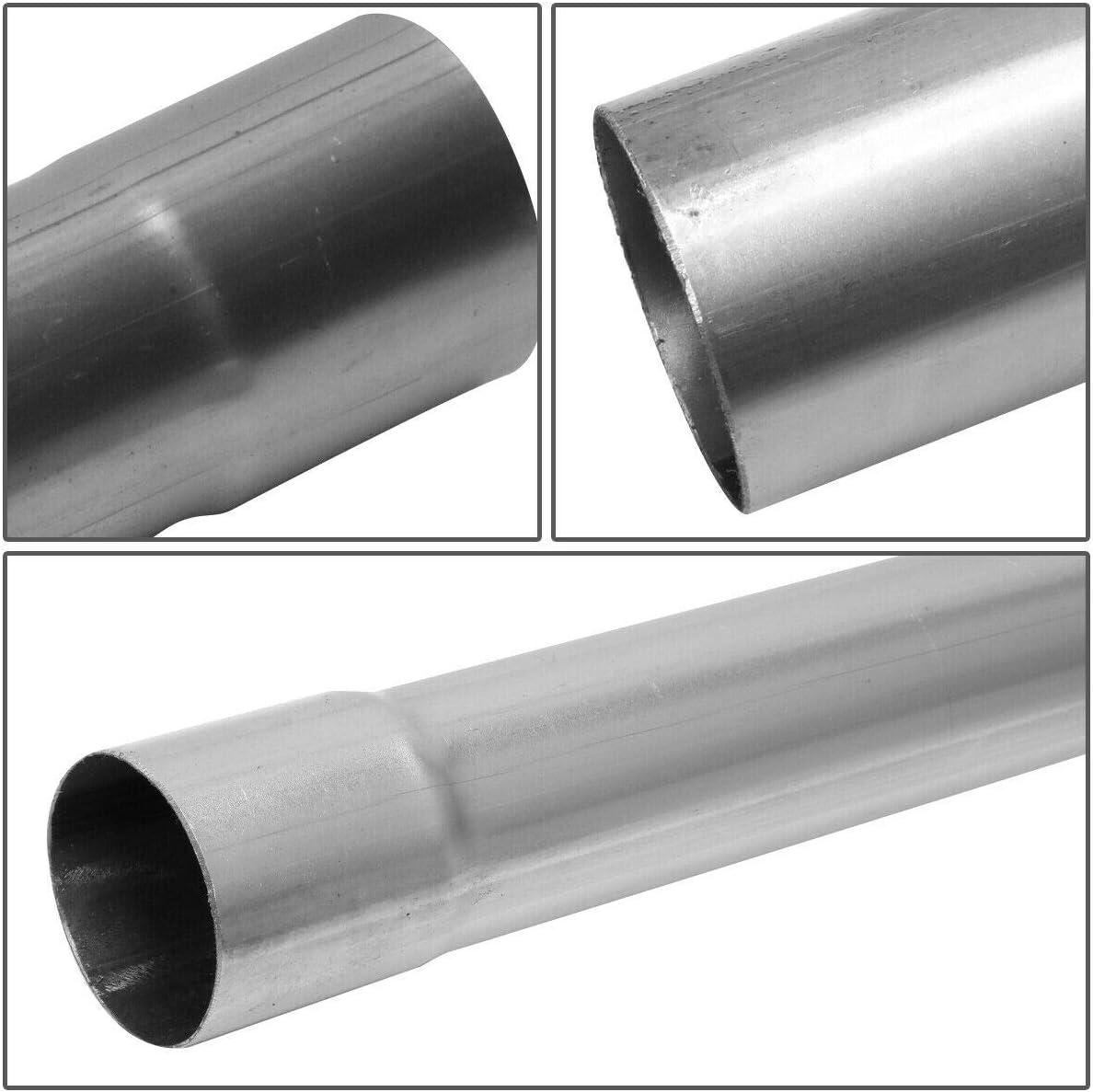 2.5 Custom Exhaust Kit Tubing Mandrel Bend Pipe Straight /& U-Bend Universal 2 1//2 8PCS