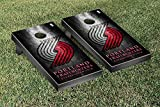 Portland Blazers Trailblazers NBA Basketball Regulation Cornhole Game Set Museum Version