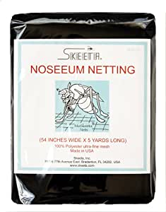 Skeeta No-see-um Netting 54 Wide X 5 Yards - Black, Model: N54-05-1 , Home & Outdoor Store