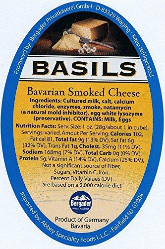 Bergader, Basils Original Rauchkase (2x1 pound)