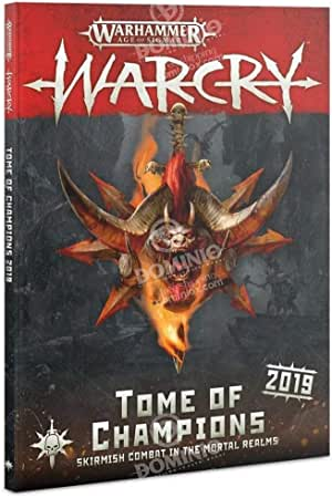 Games Workshop Warhammer Warcry: Tome of Champions 2019 Book