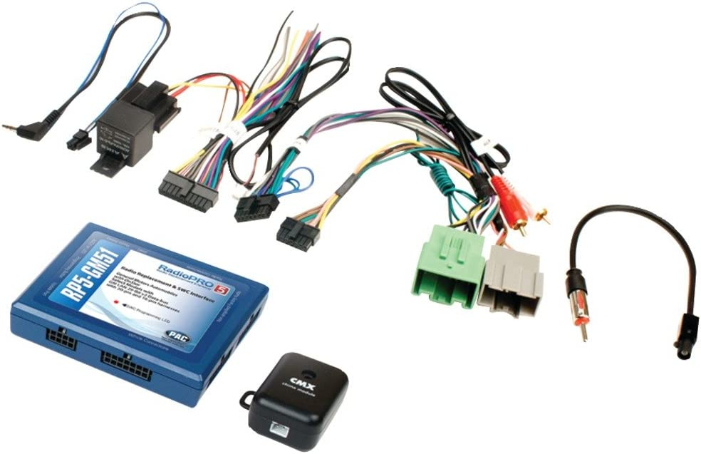 WIRE HARNESS SOCGM-18 CADILLAC GM LAN 29-BIT RADIO REPLACEMENT//WIRING INTERFACE