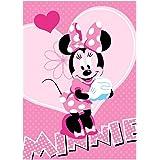 Children's Rug 133x 95cm Disney Minnie Mouse