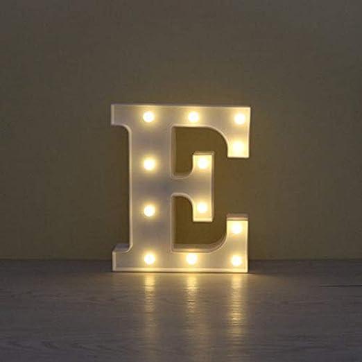 Letras Luminosas Decorativas Con Luces Led Letras Del