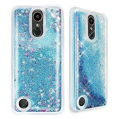 LG LV3 / LG Aristo / LG K8 2017 Case, Falling Glitter Case for LG LV3 / LG Aristo / LG K8 2017