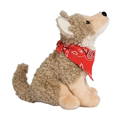 Douglas Trickster Coyote Plush Stuffed Animal: Toys & Games