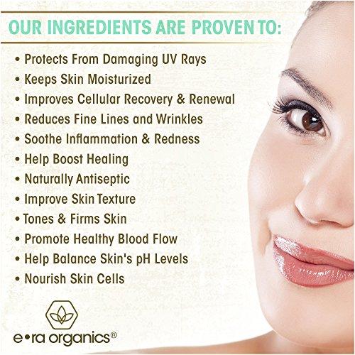 Era Organics Tea Tree Oil Face Cream - For Oily, Acne Prone Skin, Extra Soothing & Nourishing Non-Greasy Botanical… 4