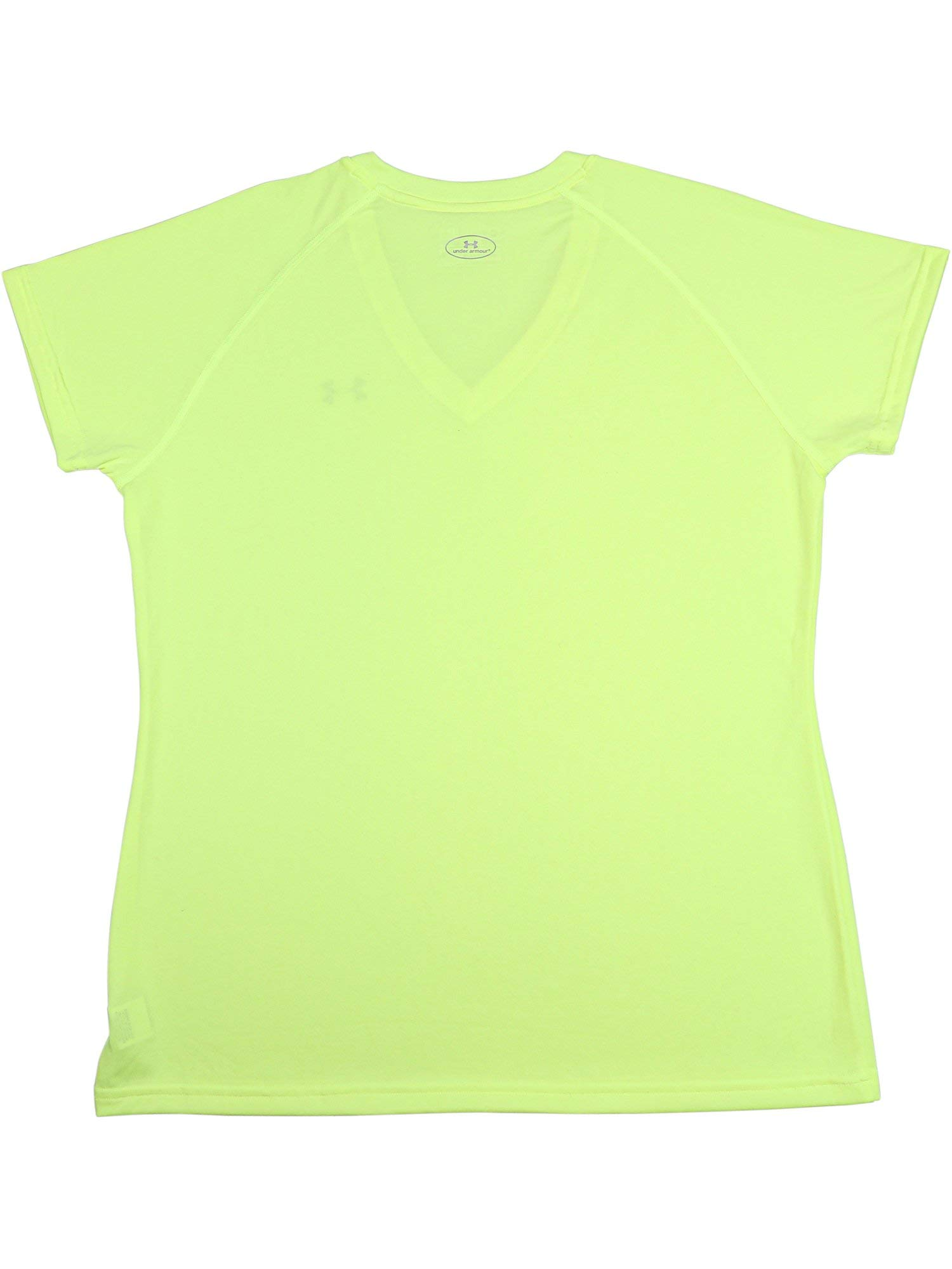 Under Armour Women's Taxi Tech V-Neck Jersey Short Sleeve Soccer - XS by Under Armour (Image #3)