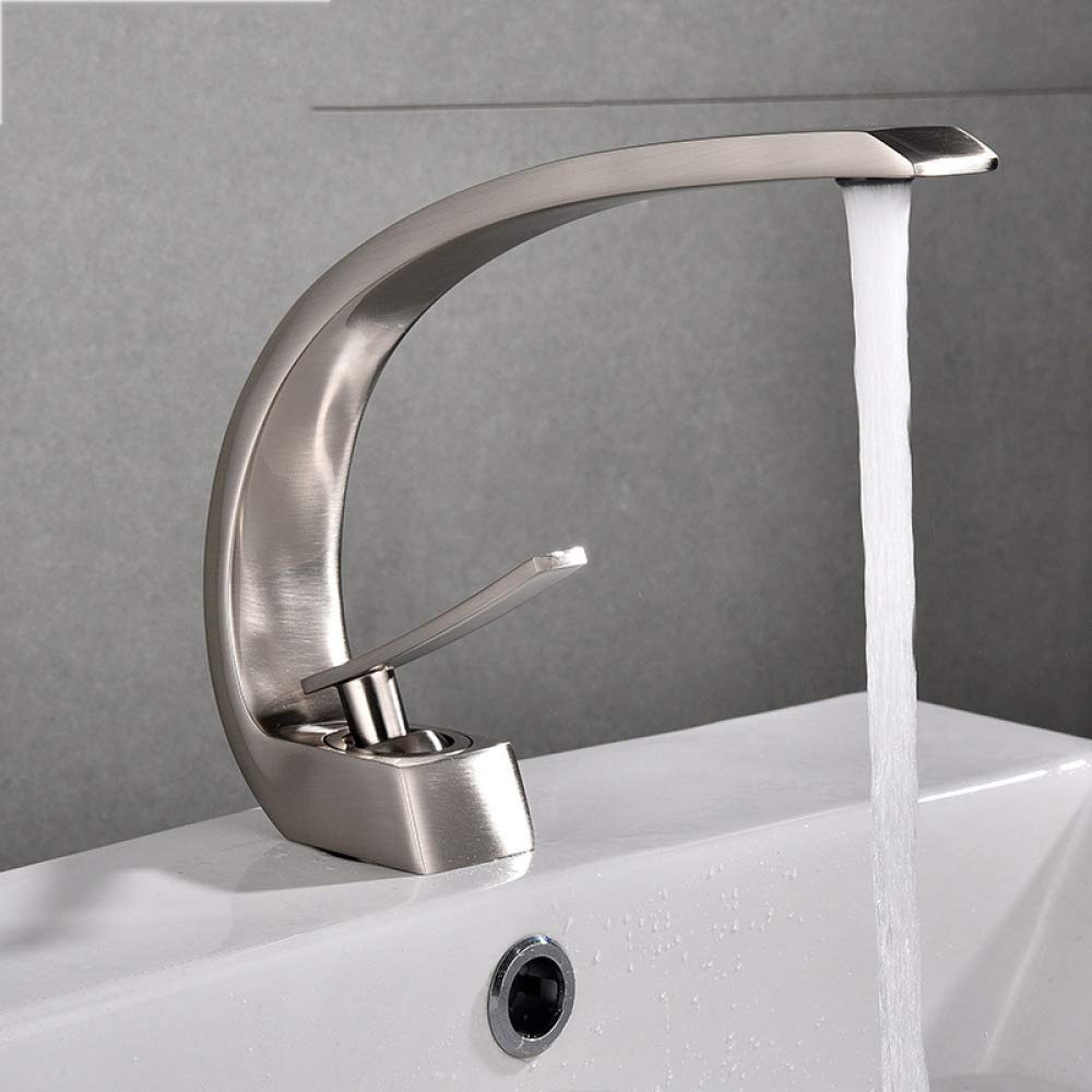 D Glz Tap Faucet Full Copper Basin Faucet hot and Cold Faucet Black and Old Faucet