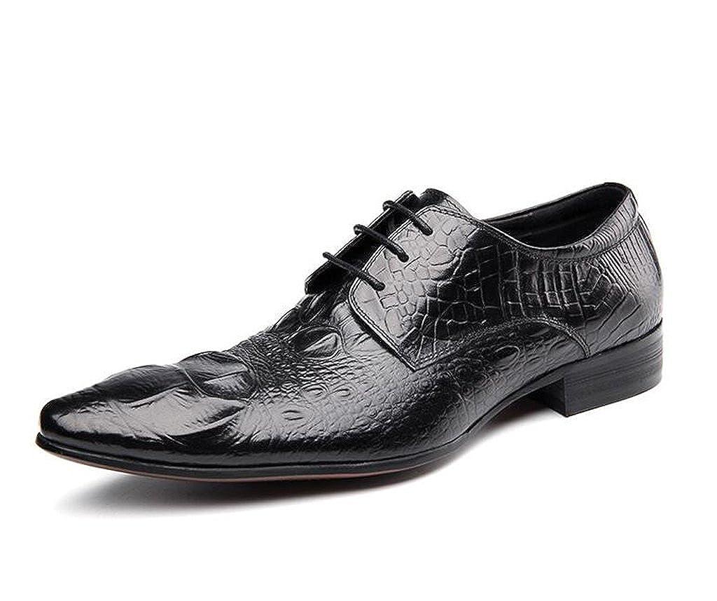 Formale Lederschuhe Der Männer Spitzte Spitzte Spitzte Mode Bequeme Schuhe Handgemachte Geschnitzte Schuhe, Die Abendessen Schwarze Schuhe Wedding Sind,schwarz,43 5832a3