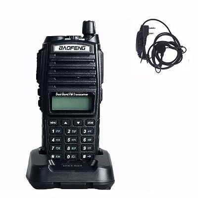 Baofeng UV-82 Walkie Talkie 136-174MHz 400-520Mhz UV82 UP Dual Band Amateur Ham Handheld Two Way Radio UV 82: Car Electronics