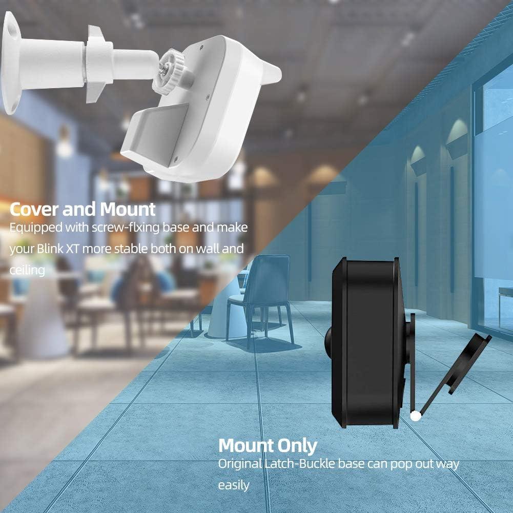 Blink XT2 XT Soporte de Pared para c/ámara Montaje Ajustable para Interiores y Exteriores protecci/ón de 360 Grados para c/ámara de Seguridad para el hogar Blink XT XT2
