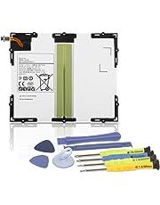 "K KYUER EB-BT585ABE EB-BT585ABA Tablet Laptop Akku Replacement für Samsung Galaxy Tab A 10.1"" 2016 SM-T580 SM-T585 SM-T585C SM-P580 SM-T587 SM-T587P Series Tablet 27.74Wh 7300mAh 3.8V with Tools"