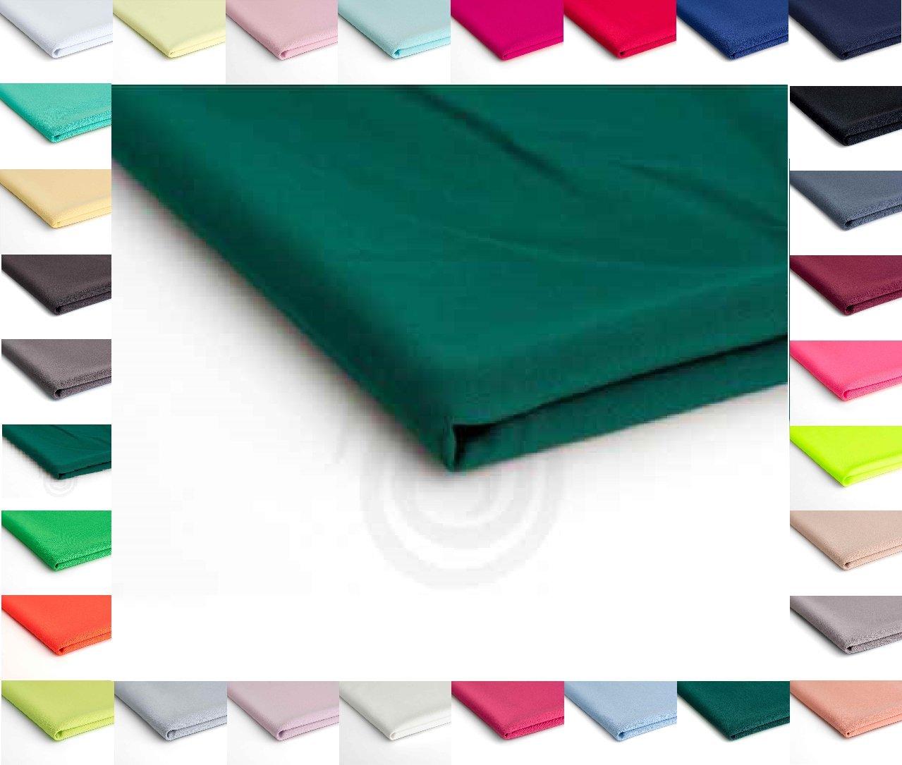 Nurek Scuba Tessuto a maglia semplice - 50 x 150cm - Disponibile in una varietà di colori (Cappuccino) Orient