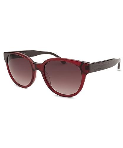 Calvin Klein Platinum - CK4289S, Rund, Acetat, Damenbrillen, RED/BROWN SHADED(607 ), 55/19/140