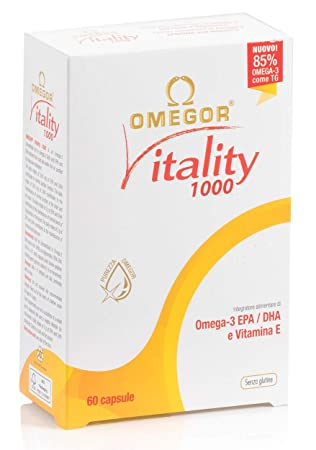 omegor Vitality 1000 - Nuevo con 85% de omega-3 TG. Certificado 5 ...