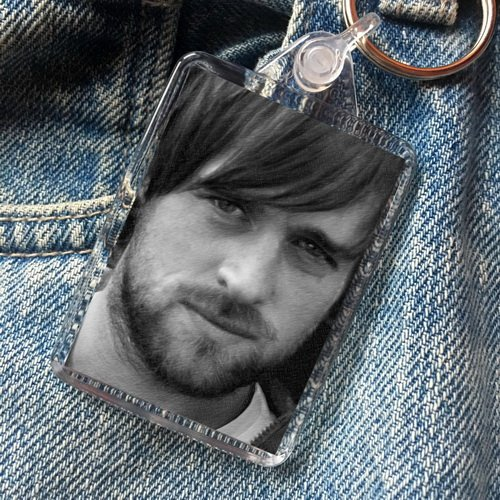 Jonas Armstrong - Original Art Keyring - Clothing Locksley