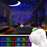 Star Night Light Projector Bedroom,3 in 1 Galaxy Projector Light LED Nebula Cloud Light with Moon Star & Voice Control…