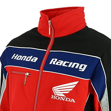 Amazon.com : Honda Racing British Super Bikes BSB Soft Shell Jacket Official 2018 : Sports & Outdoors