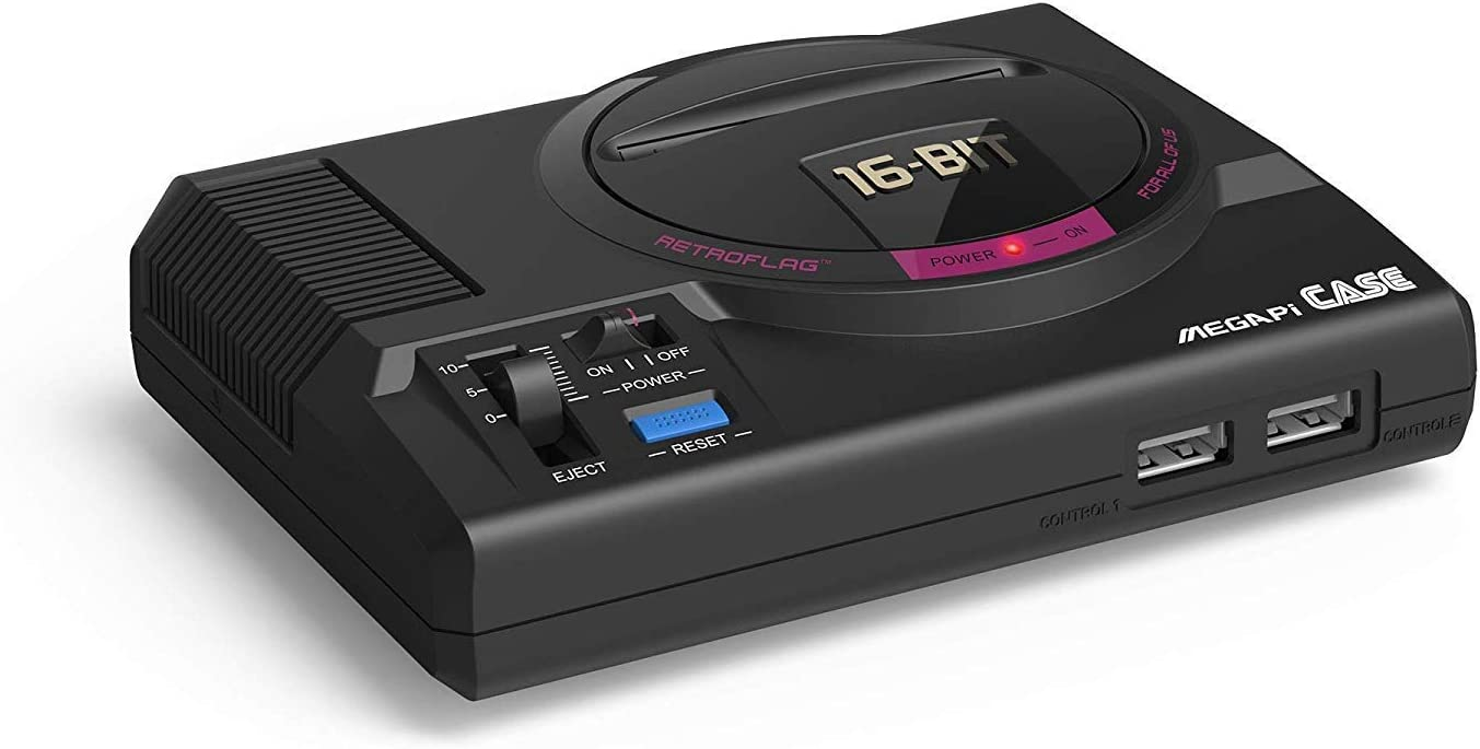 RETROFLAG Raspberry pi case MEGAPi Case Functional Power Button with Safe Shutdown for Raspberry Pi 3 B+ (B Plus) (Renewed)