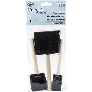 4-Pack ROYAL BRUSH RFOMW-4P Foam Brush