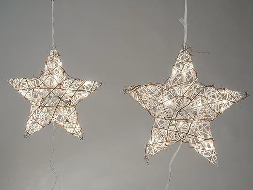 Perchero de pared con forma de estrella de Formano de ratán ...