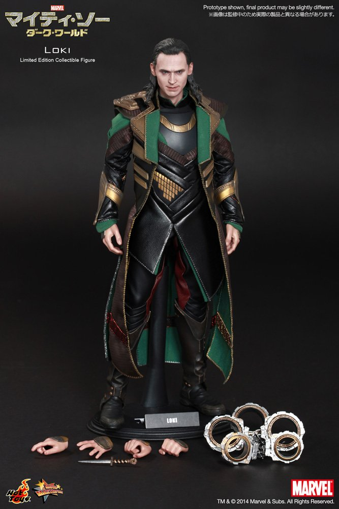 Buy Hot Toys Thor The Dark World Loki 1:6 Scale Collectible