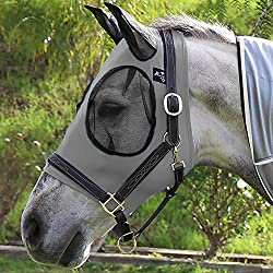 Professional`S Choice Comfort Fit Fly Mask Charcoal COB