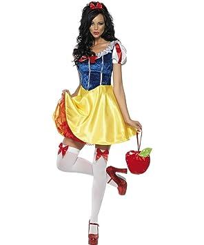 Smiffys - Disfraz de Blancanieves para mujer, talla S (30195S ...