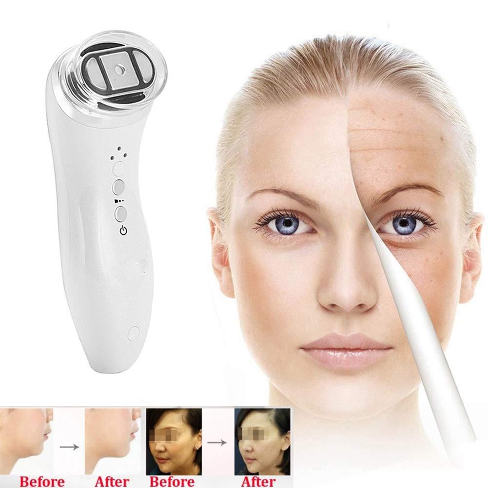 頻度美顔術の機械、反老化のスキンケアをきつく締める皮の若返りのしわの取り外しの皮のための家の使用携帯用美顔術機械 B07TX595S3
