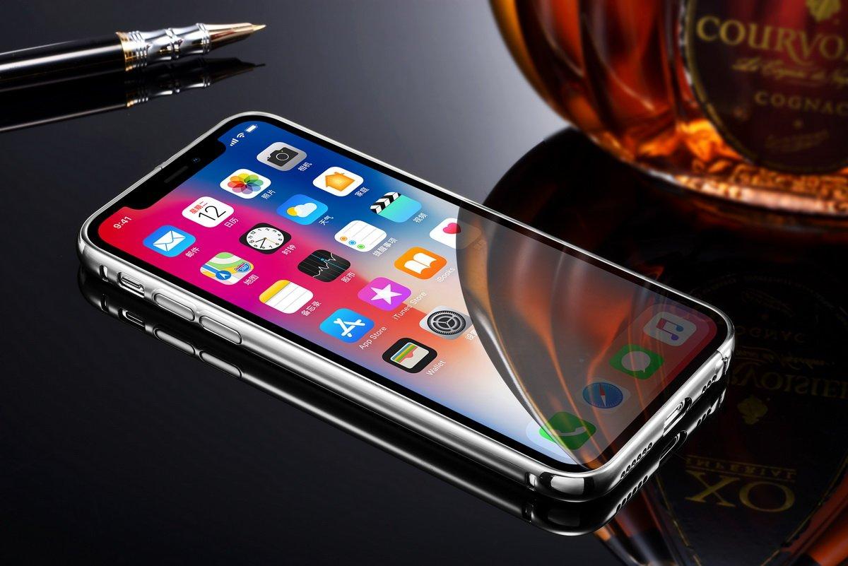 Iphone X Case For Men Minikotm Luxury Air Aluminum Metal Bumper Spigen Skin Black Detachable Mirror Hard Back 2 In 1 Cover Ultra Thin Frame With Stylish Design