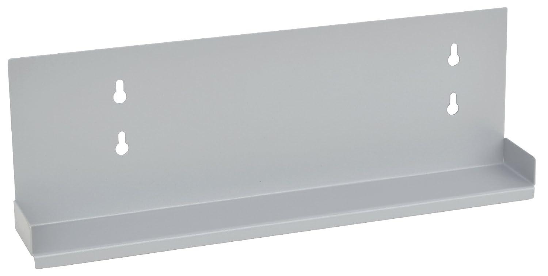 OMNIMEDスリムライン壁デスクアクセサリーシェルフ グレイ  ライトグレーストライプ B01N6HJM3V