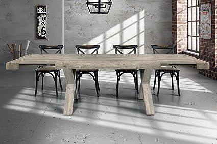 Tavoli Per Sala Da Pranzo Moderni.Tavolo Da Pranzo Moderno Di Design Allungabile Cm 90 X 180