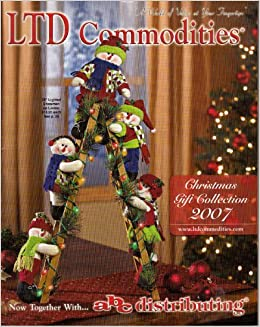 Ltd Christmas Catalog.Ltd Commodities Christmas Gift Collection 2007 Catalogue