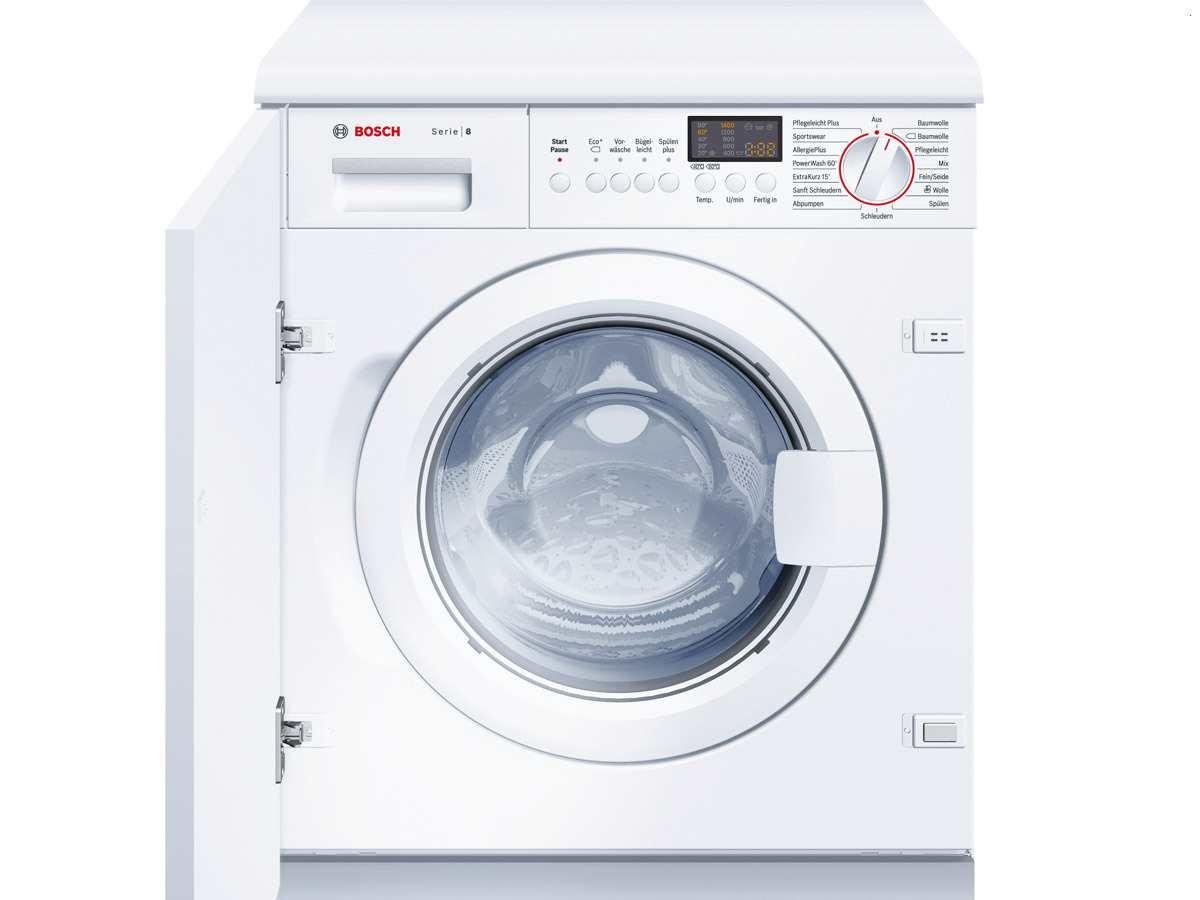Bosch WIS28441 - Lavadora (Integrado, Color blanco, Frente, 8 kg ...