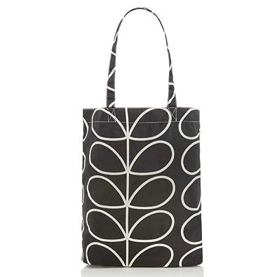 5d8c306b00 Orla Kiely Womens Giant Linear Stem Print Foldaway Shopper Tote Bag ...