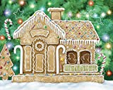 Gingerbread House Sticker Advent Calendar (Countdown to Christmas)