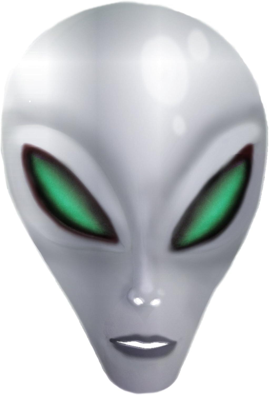 Charades Unisex-Adults Alien Mask