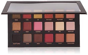 Amazon Com Huda Beauty Textured Shadows Palette Rose Gold