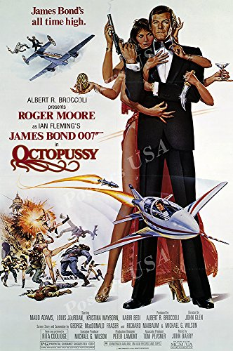 Posters USA - 007 Octopussy James Bond Movie Poster GLOSSY F