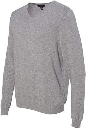 M Mens New Dark Grey Spec Flec Long Sleeve Ribbed Crew Neck Knit Jumper Top S