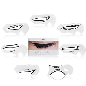 Amazy Pochoir pour Eyeliner – Un eyeliner idéal et un maquillage des yeux impeccable