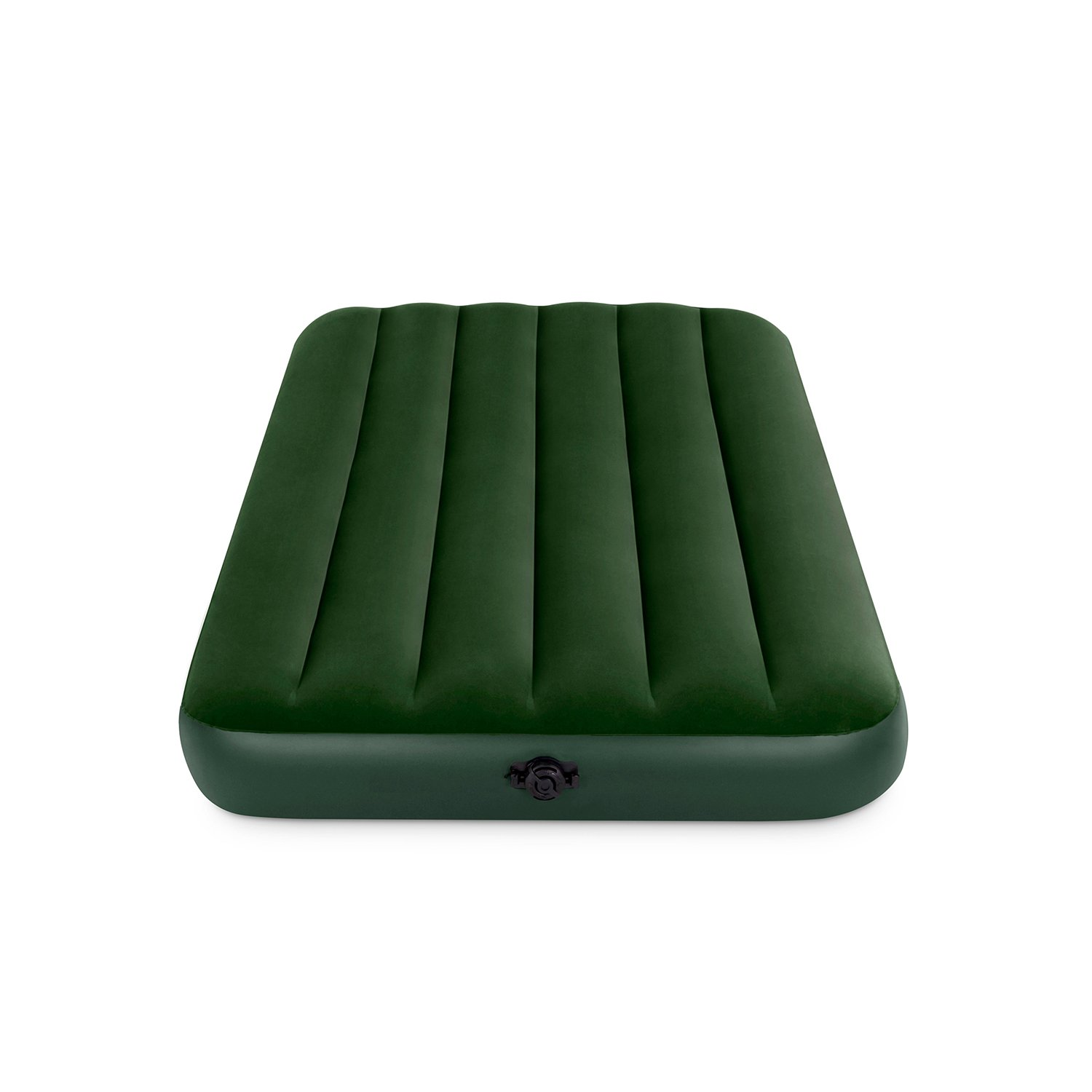 Superb Amazon Intex Prestige Downy Airbed Kit with Hand Held Battery Pump Twin Camping Air Mattresses Sports u Outdoors