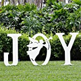 Teak Isle Christmas Joy Angel Yard Sign