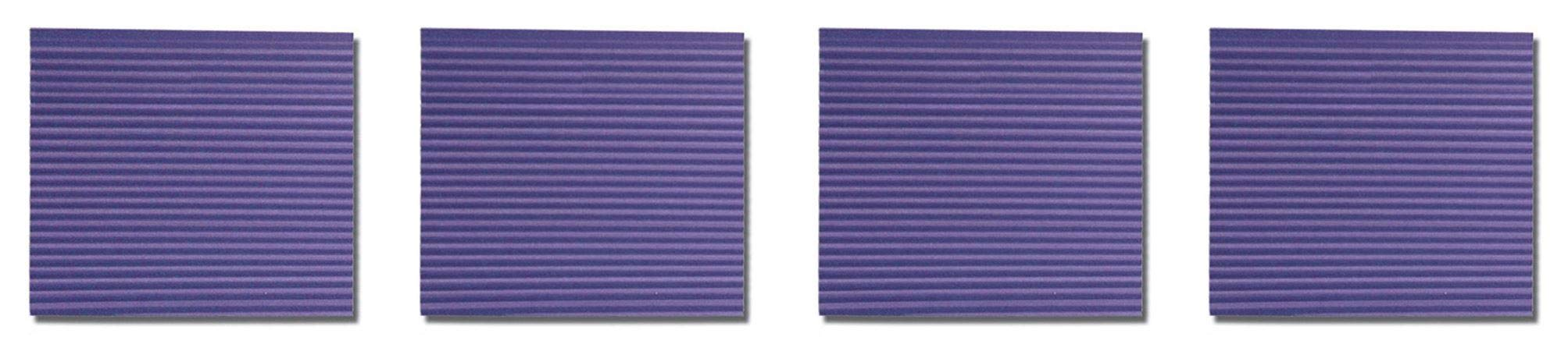 UCHIDA Corru-Gator Paper Crimper, 8-1/2-Inch, Straight (Fоur Paсk)