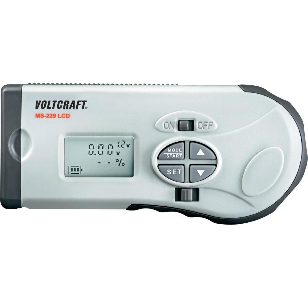 VOLTCRAFT Batterietester MS-229 LCD 100499
