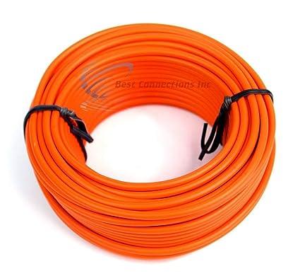 16 GA 50/' Blue Audiopipe Car Audio Home Remote Primary Cable Wire