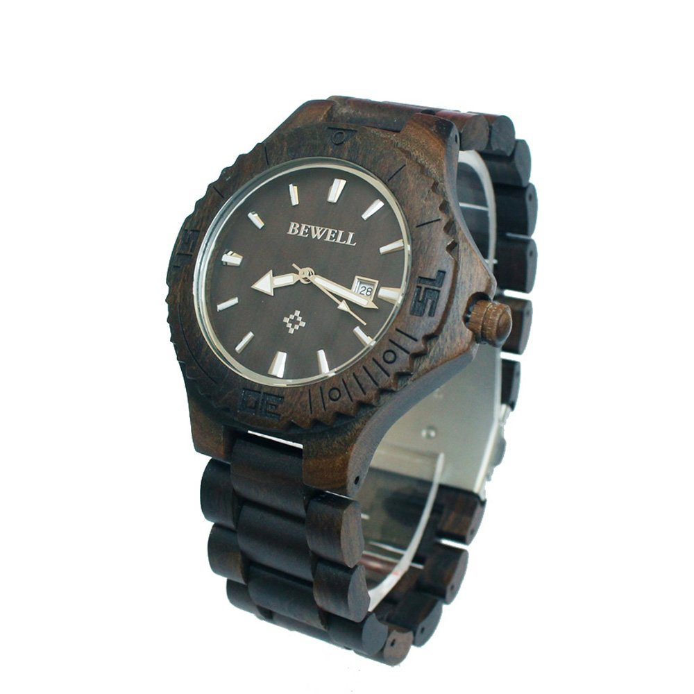 en products gold troy walnut lumbr custom watches wooden wood mechanical watch view